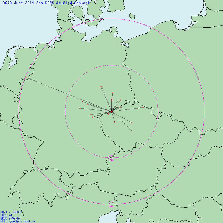 QSO Map Jun 2014 3cm