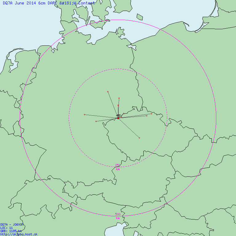 QSO Map Jun 2014 6cm